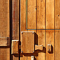 Wooden Door Detail by Carlos Caetano