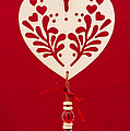 Wooden Heart by Anne Gilbert