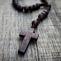 Wooden Rosary by Aged Pixel