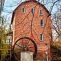 Wood's Grist Mill in Northwest Indiana Print by Paul Velgos