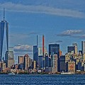 World Trade Center Painting Print by Dan Sproul