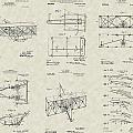 Wright Brothers Aircraft Patent Collection by PatentsAsArt