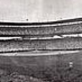 Wrigley Field 1929 Panorama Print by Benjamin Yeager