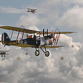 Ww1 Re8 Aircraft by Pat Speirs