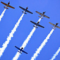 Yak 52 Formation by Phil 'motography' Clark