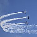 Yaks Aerobatics Team by Jane Rix