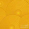 Yellow Abstract by Frank Tschakert