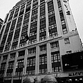 Yellow Cabs Outside Macys Department Store 7th Avenue And 34th Street Entrance New York by Joe Fox