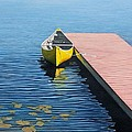 Yellow Canoe by Kenneth M  Kirsch