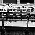 Yellow School Buses In A Car Park New York City by Joe Fox
