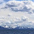 Yellowstone Lake  Absaroka Mountains