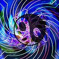 Yin Yang Transformations Print by Daryl Macintyre