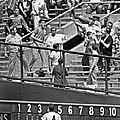 Yogi Berra Home Run by Underwood Archives