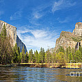 Yosemite Print by Jane Rix