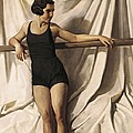 Young Bather. 1st Half 20th C. Artists by Everett