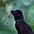 Young Lab And Buttys by Carol Cavalaris