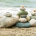 Zen Meditation Balance by Artist and Photographer Laura Wrede