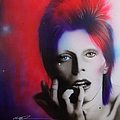 'Ziggy Stardust' Poster by Christian Chapman