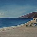 Zuma Lifeguard Tower by Ian Donley