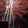 Bastille Day Fireworks by Sami Sarkis