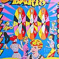 Girl Darts by Beth Saffer