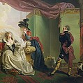 Malvolio Before Olivia - From 'twelfth Night'  by Johann Heinrich Ramberg