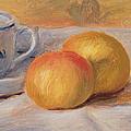 Still Life With Blue Cup Nature Morte A La Tasse Bleue by Pierre Auguste Renoir