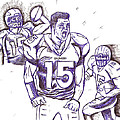 Tebow Time Let's Go  by HPrince De Artist