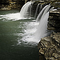 0804-0013 Falling Water Falls 4 by Randy Forrester