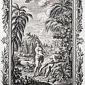 1731 Scheuchzer Creation Adam & Eve by Paul D Stewart