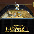 1911 Ford Model T Torpedo Hood Ornament by Jill Reger