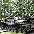 A Leopard 1a5 Mbt Of The Belgian Army by Luc De Jaeger