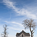 Abandoned House In Field by Dave & Les Jacobs