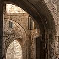 Alley In Jerusalem by Noam Armonn