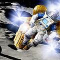 Asteroid Deflection, Astronauts by Detlev Van Ravenswaay