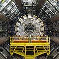 Atlas Detector, Cern Print by David Parker