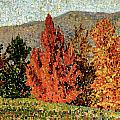Autumn Landscape by Henri-Edmond Cross