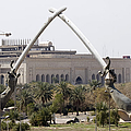Baghdad, Iraq - Hands Of Victory by Terry Moore