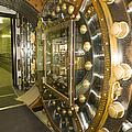 Bank Vault Interior by Adam Crowley