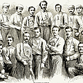 Baseball Teams, 1866 by Granger