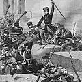 Battle Of Chapultepec, 1847 by Granger