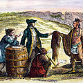 CANADA: FUR TRADERS, 1777 Print by Granger