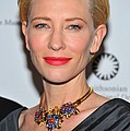 Cate Blanchett Wearing A Van Cleef & by Everett