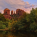 Cathedral Rock Sunset by Jeffrey Campbell