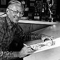 Charles M. Schulz, 1922-2000, American by Everett