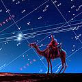 Christmas Star As Planetary Conjunction by Detlev Van Ravenswaay