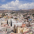 City Of Guanajuato From The Pipila Overlook At Dusk by Jeremy Woodhouse