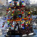 Colors Of Gasparilla by David Lee Thompson
