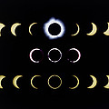 Composite Time-lapse Images Of Solar Eclipses by Dr Fred Espenak