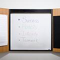 Dry Erase Board by Andersen Ross